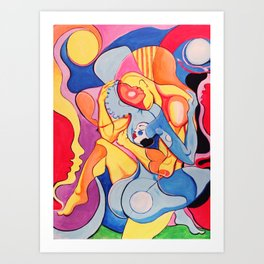 AbstractGods Art Print