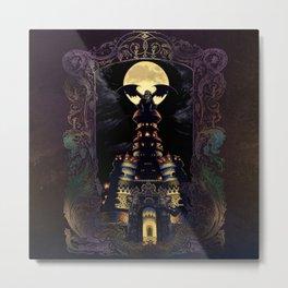 Magus Castle Metal Print