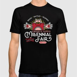 Gamer Geeky Chic Chrono Trigger Inspired Millennial Fair Videogame Fun T-shirt