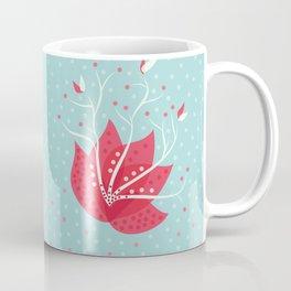 Exotic Winter Flower Coffee Mug