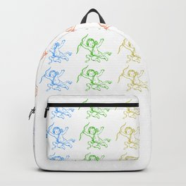ROCCOC POP ART PATTERN CHERUB Backpack