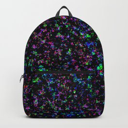 Black Light Color Spray Backpack