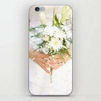 bride iPhone & iPod Skins featuring Bride by Tianna Chantal