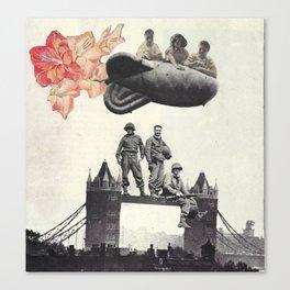 London Bridge collage Canvas Print