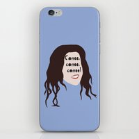 gilmore girls iPhone & iPod Skins featuring Lorelai Gilmore - Coffee by Hannah