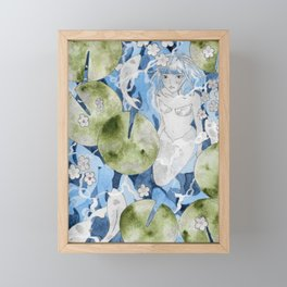 Underwater (Mermay 2019) Framed Mini Art Print