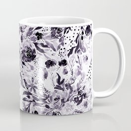 Flower Joy in B+W Coffee Mug