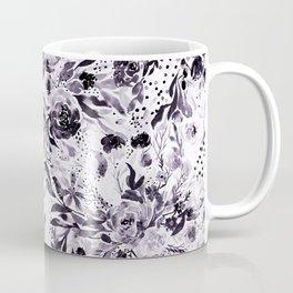Flower Joy in B+W Coffee Mug