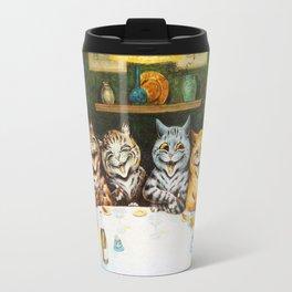 Kitty Happy Hour - Louis Wain's Cats Travel Mug