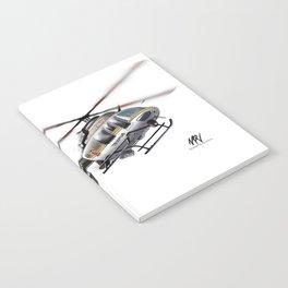 Troopers Bell 407 Notebook