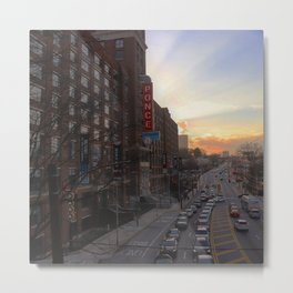Ponce City Sunset Metal Print