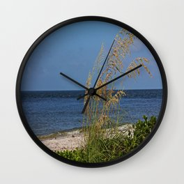 Under a Summer Sky Wall Clock