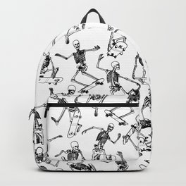 Grim Ripper WHITE Backpack