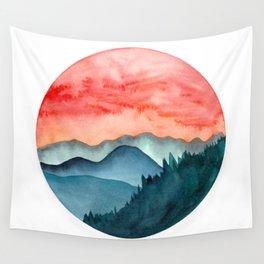 Mini dreamy landscape II Wall Tapestry