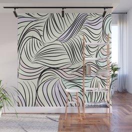Seuss-y contemporary cartoon pattern Wall Mural