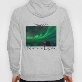 Northern Lights Mt Nouljia Sweden Hoody