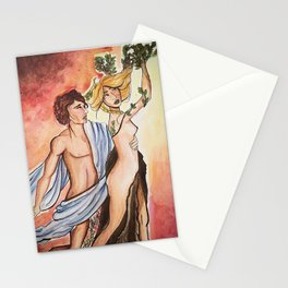 APOLO AND DAFNE Stationery Cards