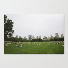 Sheep Meadow, Central Park, NYC Canvas Print