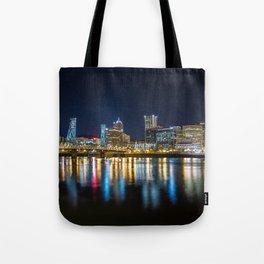 Portland Nocturnal Tote Bag