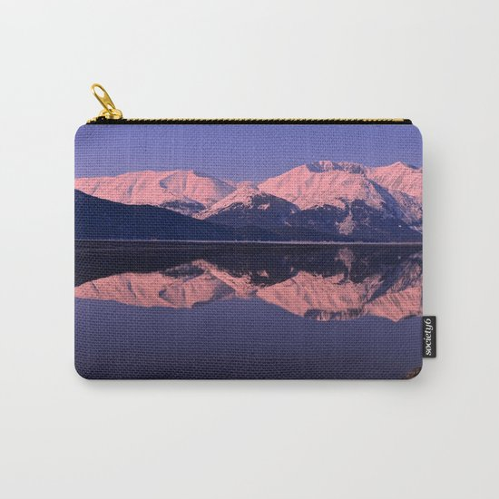 Rose Alpenglow Carry-All Pouch