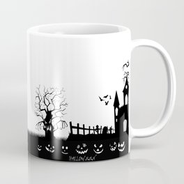 HALLOWEEN BLACK AND WHITE Coffee Mug