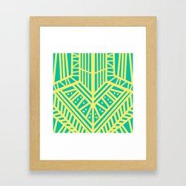 Lemon Mint Framed Art Print