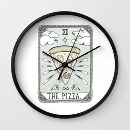 The Pizza Wall Clock