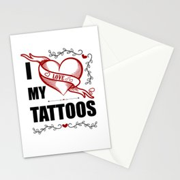 Tattoolover Stationery Cards