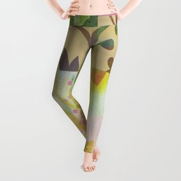 Perennials at Dusk Leggings