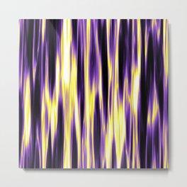 Nonbinary Pride Vertically Flowing Light Metal Print