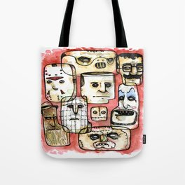 Oh The Horror Tote Bag