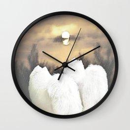 """"""" Moon Watch """" Wall Clock"""