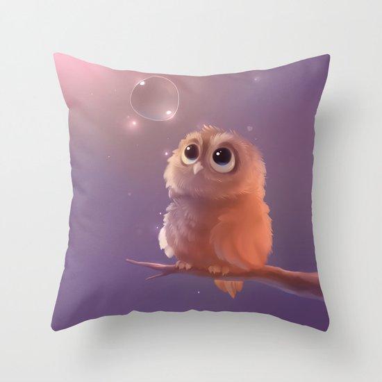 Little Guardian Throw Pillow