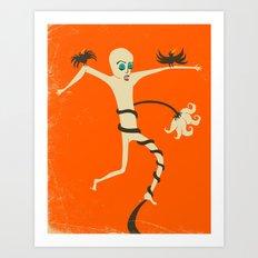 STRUGGLE Art Print