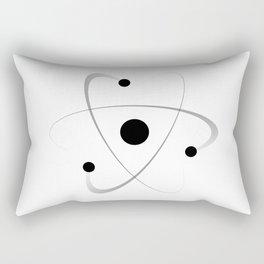 Atomic Mass Structure Rectangular Pillow