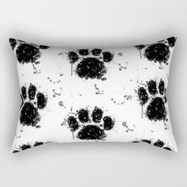 Pawprint Love Rectangular Pillow