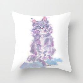 Little Violette Throw Pillow
