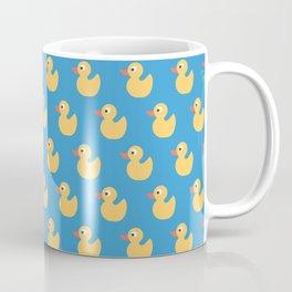 Rubber Ducky Duck Print Seamless Pattern Coffee Mug
