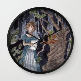 A Letter From Stranger Wall Clock
