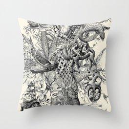 Tree of Wonders Throw Pillow