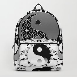 YinYang Sacred Geometry Totem Backpack