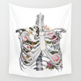 Botanatomical: Botanatomy II Wall Tapestry