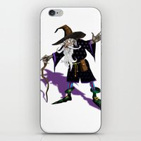 wizard iPhone & iPod Skins featuring Wizard by Noughton