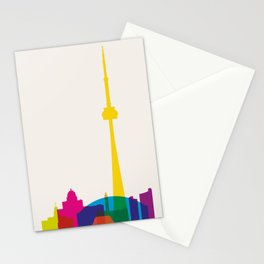Shapes of Toronto. Accurate to scale Stationery Cards