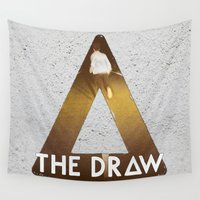 bastille Wall Tapestries featuring Bastille #1 The Draw by Thafrayer