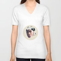 tyler the creator V-neck T-shirts featuring Tyler, The Creator, Incomplete #2 by Flambino Gambino