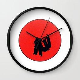 Art Of Judo Print Wall Clock