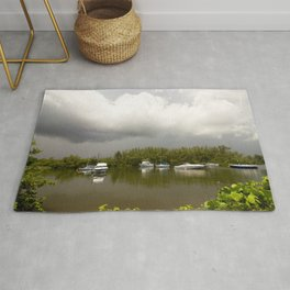 Clouds and Storm Rug
