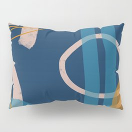 Lineup Series Blue Pillow Sham