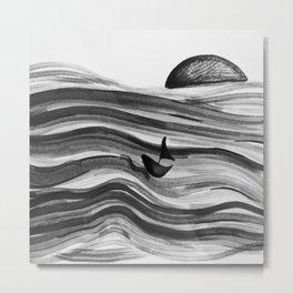 afloat  Metal Print